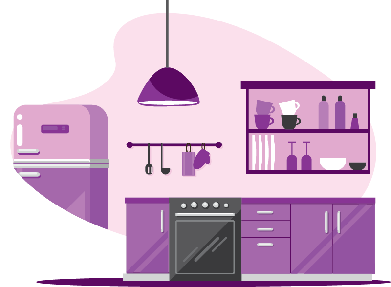 Protection for kitchen installations